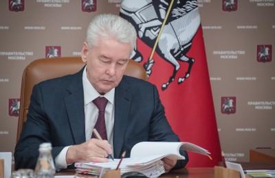 Мэр Москвы Сергей Собянин: В 2016 году в городе открыли более 100 км дорог