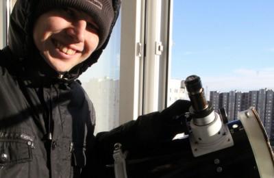 Пролет астероида над Москвой зафиксировал житель района Москворечье-Сабурово