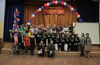 Слет «Потомки героев» провели в школе №982