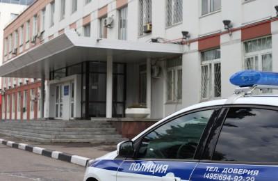 Полицейскими юга столицы задержан подозреваемый в краже