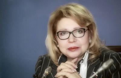 Депутат Госдумы Елена Панина поздравила жителей района с Новым годом и Рождеством