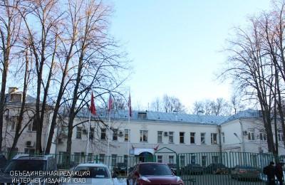 """Главное здание ТЦСО """"Царицынский"""""""