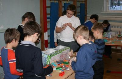 Олимпиада по робототехнике состоялась в гимназии №1579