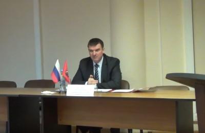 Первая в этом году встреча главы управы с жителями прошла в районе 18 января