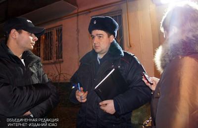 Полицейскими района Москворечье-Сабурово задержан подозреваемый в краже