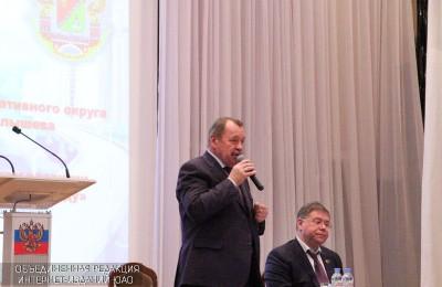 Префект ЮАО Алексей Челышев рассказал жителям о дорожном строительстве и развитии общественного транспорта