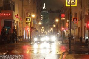 Одна из центральных улиц Москвы