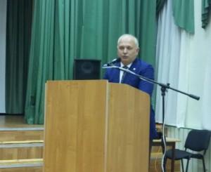 Начальник ОМВД России по району Бирюлево Восточное майор полиции Коносов Георгий Дмитриевич