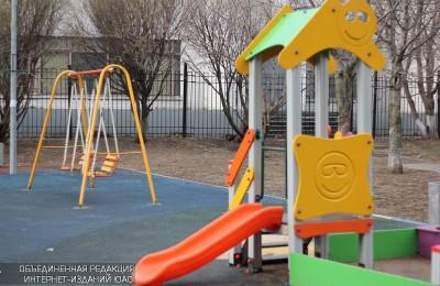Детская площадка в районе Москворечье-Сабурово
