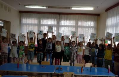 """Ученики 4 """"Г"""" класса школы №982"""