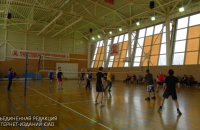 Соревнование по волейболу в ЮАО