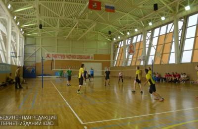 Турнир по волейболу среди жителей района Москворечье-Сабурово