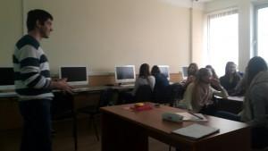 Председатель молодежной палаты района Москворечье-Сабурово Геворк Хоршикян проведет лекцию в гимназии №1579