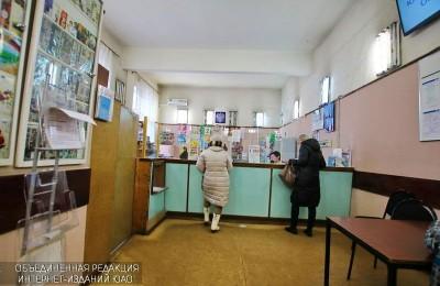 """Отделение """"Почты России"""" в районе Москворечье-Сабурово"""