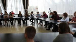 В школе №2000 состоялась дискуссия, приуроченная к Году экологии в России