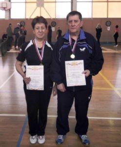 Команда района Москворечье-Сабурово заняла 1 место в соревнованиях по настольному теннису