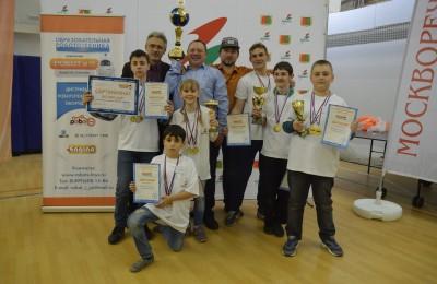 Победители робототехнической олимпиады