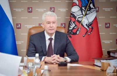 Сергей Собянин посетил обновленный Даниловский рынок