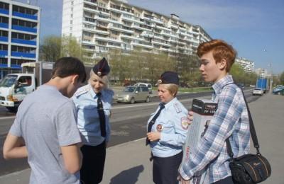 """Московские школьники сняли ролик """"Слушай дорогу"""""""