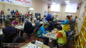 Соревнования по шашкам в ЮАО