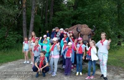 Школьники ЮАО на экскурсии