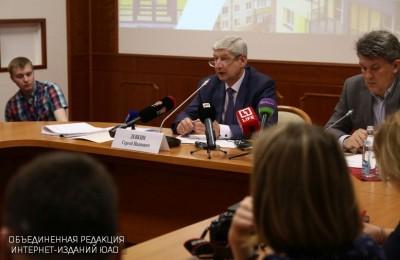 Руководитель Департамента градостроительной политики Москвы Сергей Левкин.