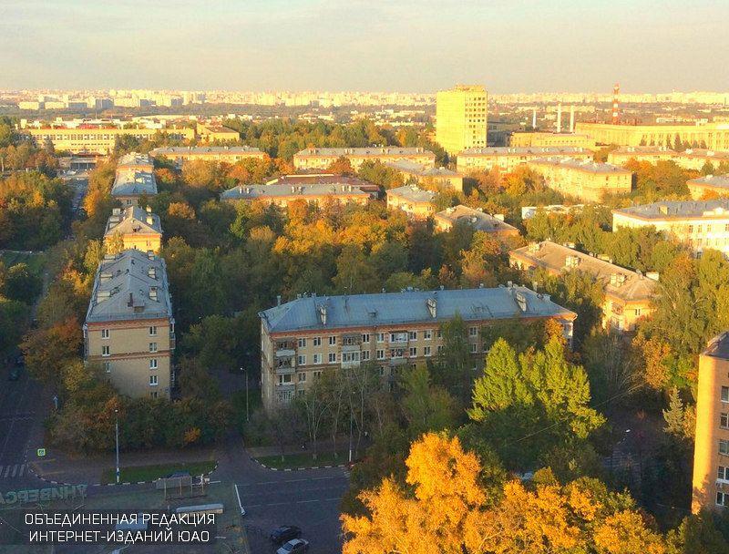 Дома в районе Москворечье-Сабурово