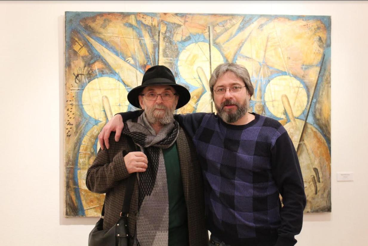 Юрий Изосимов и Евгений Изосимов Фото: Ульяна Белогривцева