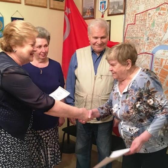 Встреча Совета ветеранов Даниловского района