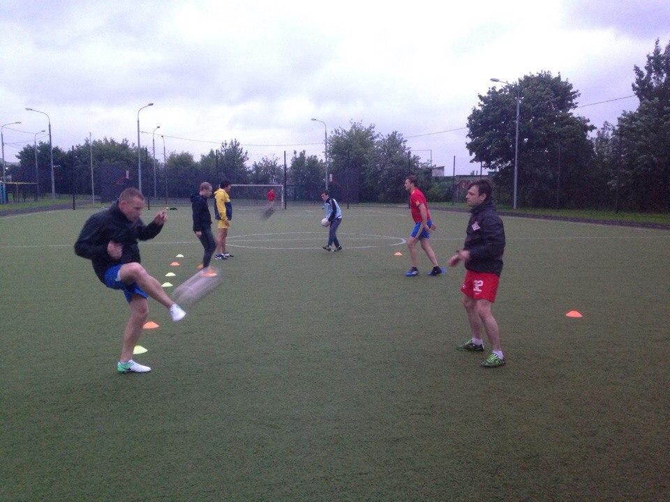 Тренировка по футболу Фото: предоставлено организаторами