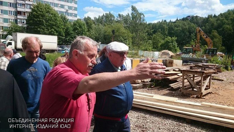 Владимир Ресин иАлексей Челышев проверили строительство храмов