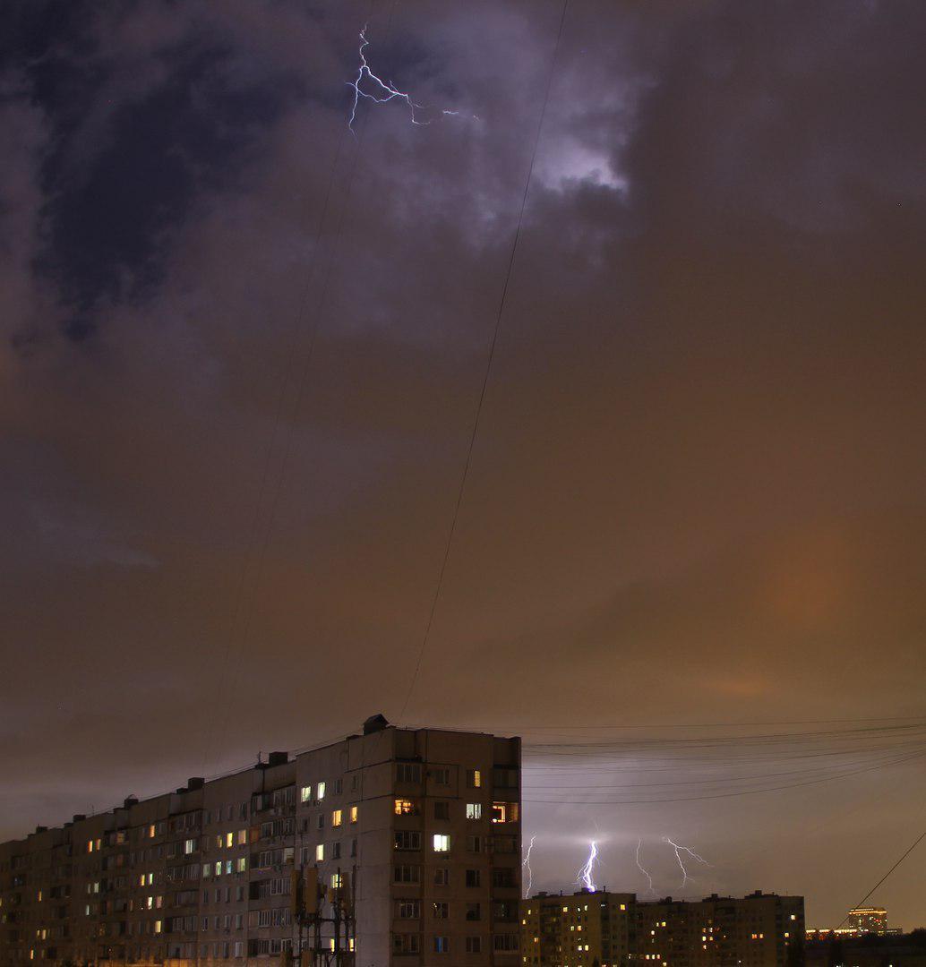 Фото грозы в Москворечье-Сабурово