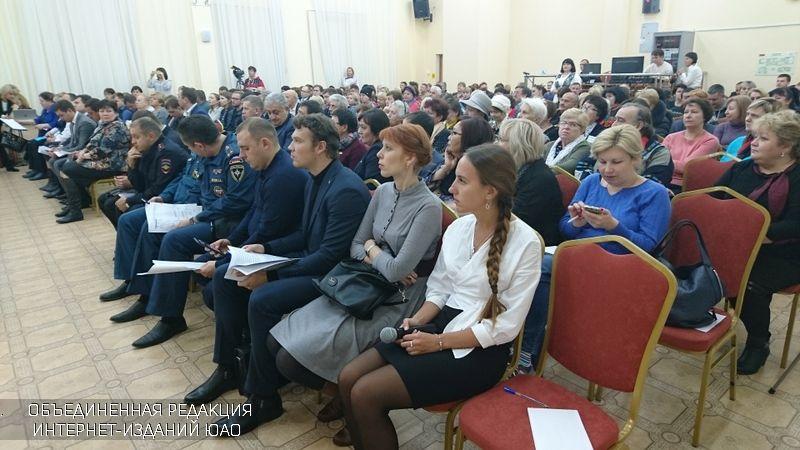 Исполняющая обязанности префекта ЮАО Людмила Концева встретилась с жителями округа