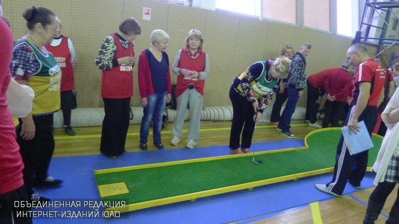 Турнир по мини-гольфу в ЮАО