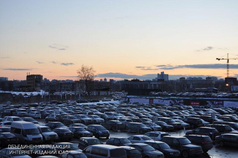 Парковки в ЮАО
