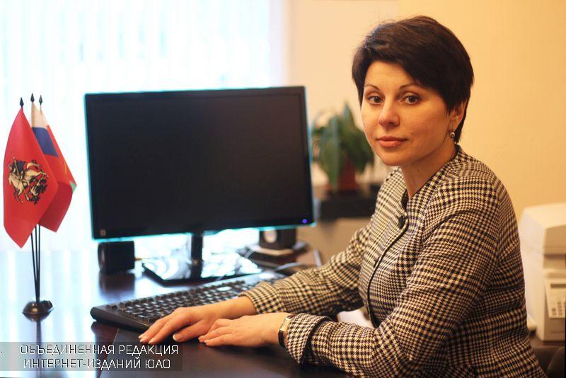 Глава муниципального округа Наталья Заусаева
