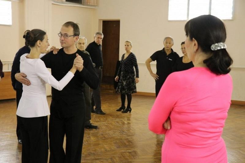 КЦ «Москворечье», спортивно-танцевальный коллектив «Эста», милонга, аргентинское танго, мастер-класс