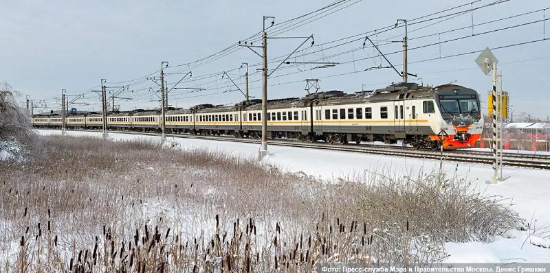 поезд, электричка, мосру, 0702