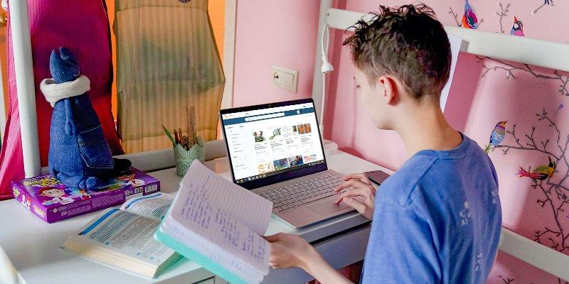 Анастасия Ракова, дистанционное обучение, коронавирус, коронавирусная инфекция, Московская электронная школа, МЭШ,